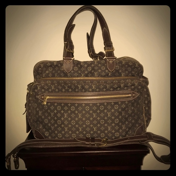 8ad46c2a91a Louis Vuitton Handbags - Authentic Louis Vuitton Mini Lin Diaper Travel Bag